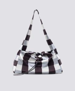 KARA Gingham Cloud Bag