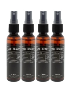 LAB TO BEAUTY The CBD Hand Sanitizer – 4 Pack