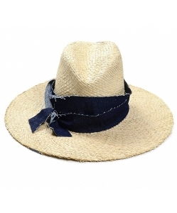 LOLA HATS Denim First Aid Sun Hat