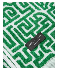 JOHN ELLIOTT Moroccan Beach Towel in Green