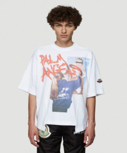 MONCLER GENIUS 8 Moncler Palm Angels Graphic T-Shirt