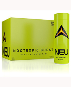NOOTROPIC Energy Shots – NEU – Improve Focus, Clarity, Motivation – BPA-Free Bottles – USA Made