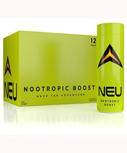 NOOTROPIC Energy Shots – NEU – Improve Focus, Clarity, Motivation – BPA-Free Bottles – USA Made