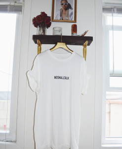 STYLFNDR LLC 'No Small Talk' Oversized Tee