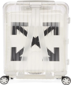 OFF-WHITE RIMOWA Limited Edition 'See Through' Carry-On Suitcase