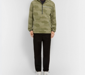 A.P.C. – + Outdoor Voices Camoufage-print Ripstop Hooded Jacket – Green