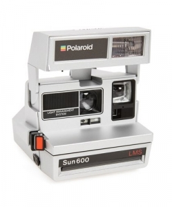 IMPOSSIBLE PROJECT Polaroid 600 Silvertone Metallic Instant Camera