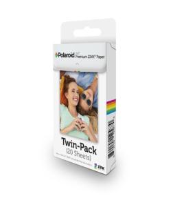 POLAROID Premium ZINK Photo Paper TWIN PACK (20 Sheets)