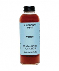 VYBES CBD Beverage – Blueberry Mint