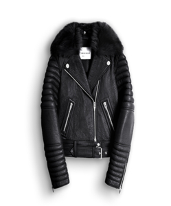 THE ARRIVALS Rainier LMTD Leather Moto Jacket