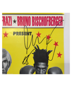 Jean-Michel Basquiat + Andy Warhol Original Poster