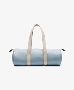 SIMON MILLER Blue And White Mini Toolkit Leather Holdall
