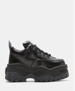 EYTYS Angel Leather Sneakers in Black