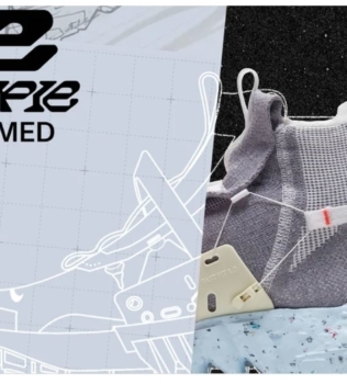 Space Hippie: Nike Reveals New Sneaker Made from Waste