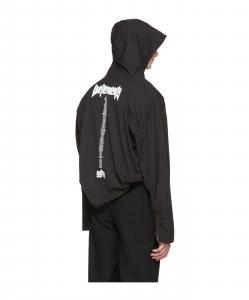 VETEMENTS Black Hanes Edition 'Staff ' Hoodie