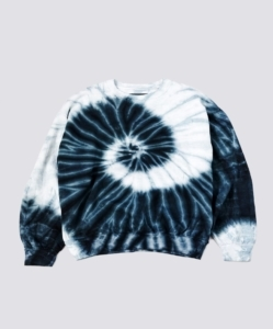 ASSEMBLY NEW YORK Storm Blue Tie Dye Sweatshirt