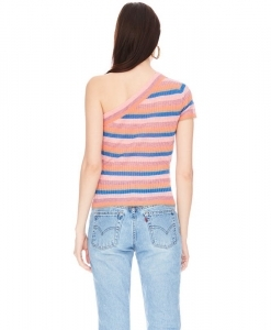 VEDA Jeanne Top Summer Stripe