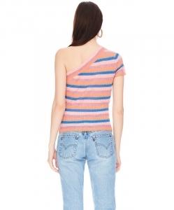 VEDA Jeanne Top Summer Stripe