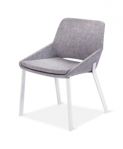 Modern by Dwell Magazine Dining Chair White/Gray