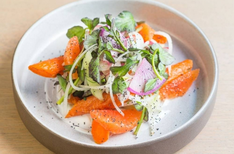#DIY Carrot Salad from NYC's Rouge Tomate