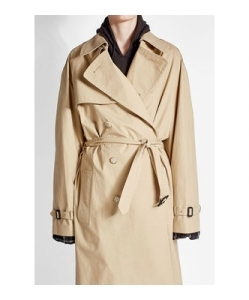 VETEMENTS Oversized Cotton Trench