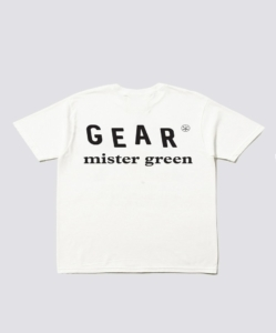MISTER GREEN White Master of Stoned Tee